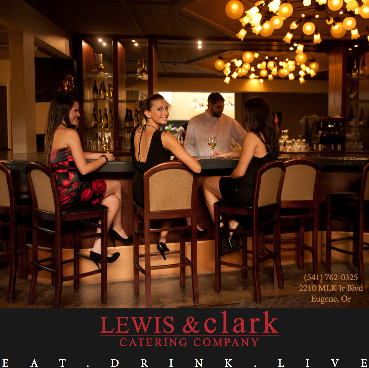 Lewis And clark catering |  Magazine shoot
