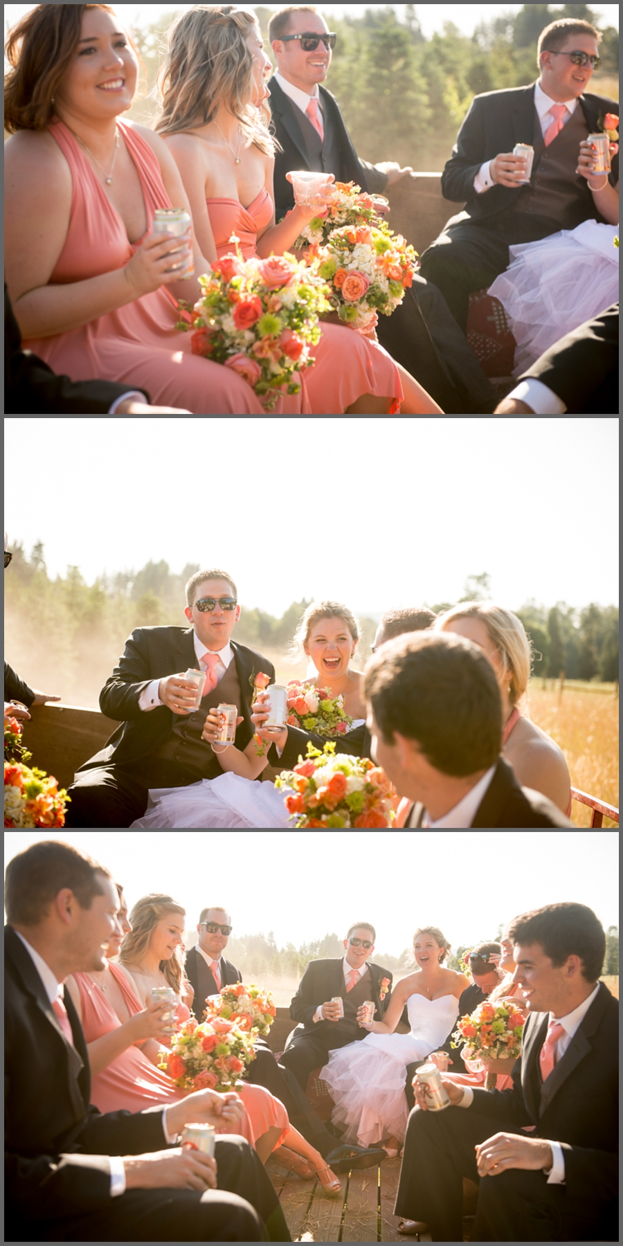 Part two of a two part blog Brianna and Alex Wedding Northern Lights Christmas Tree Farm