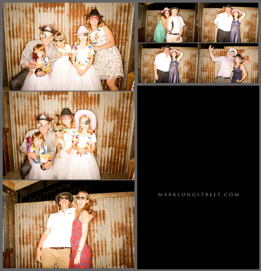 McKenna and Brandon Photo Booth Images