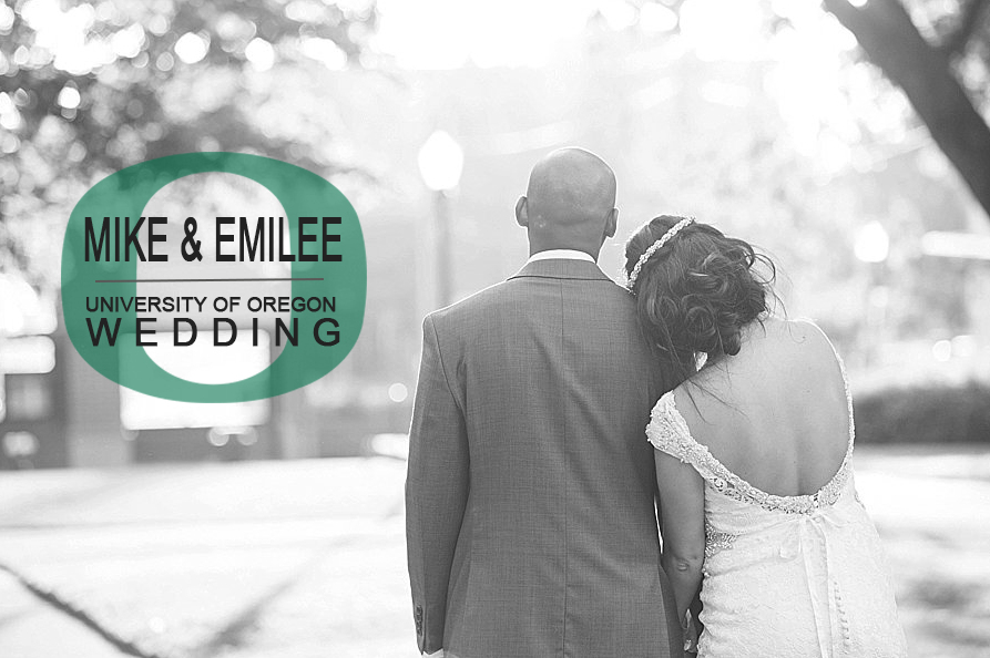 Emilee And Mike Wedding at U of O