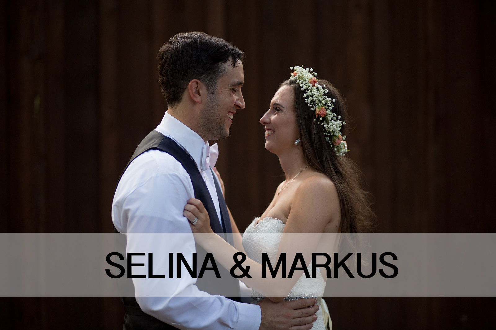 Selina and Markus Wedding