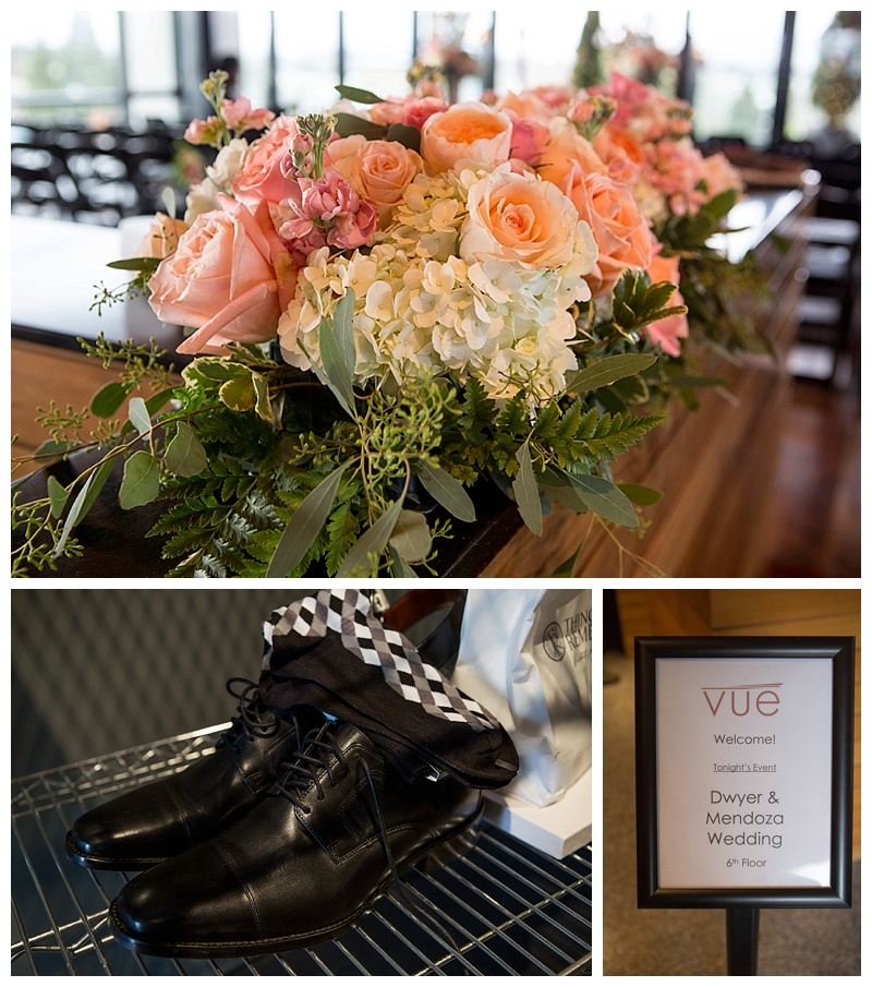 Christopher and Danielle Wedding at the Vue in Corvallis Oregon.